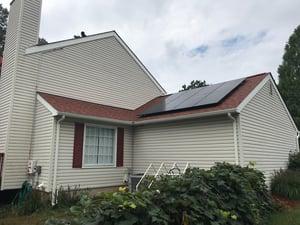 Solar installation in -VA