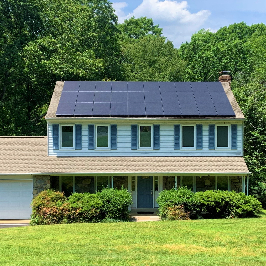 Oakton VA solar square